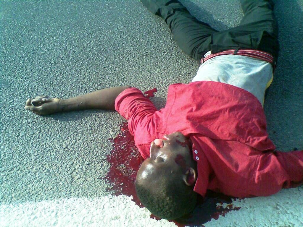 Accident l un des gardes du corps du ministre mabri fauch par un car man accidentciv le - Coup du lapin accident de voiture ...