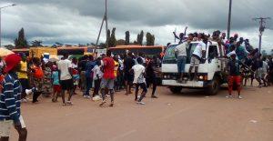 La parade des jeunes pour Samy Merhy