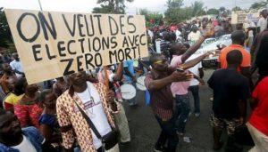 Des élections sans violences en Côte dIvoire est le voeu des populations